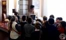 Во время музейно-педагогического занятия. Полоцк. 2017 г.