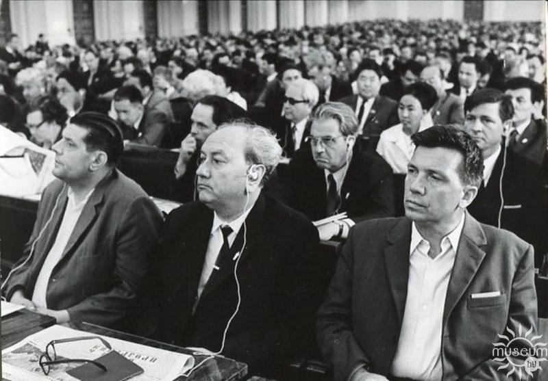 At ​​the Fifth Congress of Writers of the USSR. 1971
